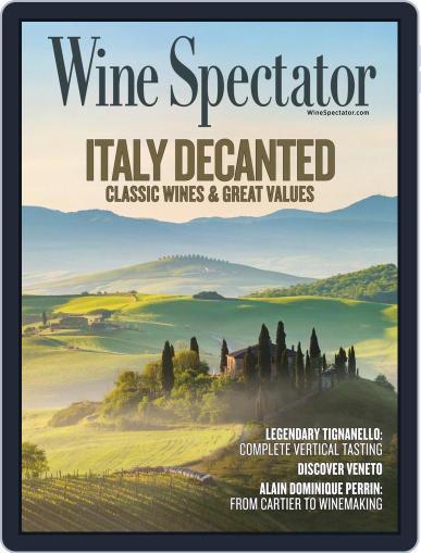 Wine Spectator (Digital) October 31st, 2020 Issue Cover