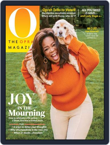 O, The Oprah Magazine (Digital) October 1st, 2020 Issue Cover