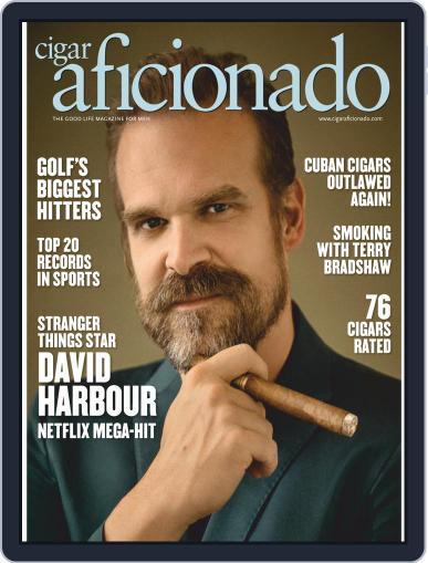 Cigar Aficionado (Digital) September 1st, 2020 Issue Cover