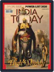 India Today (Digital) Subscription October 26th, 2020 Issue