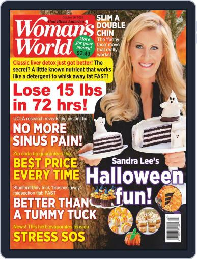 Woman's World October 26th, 2020 Digital Back Issue Cover