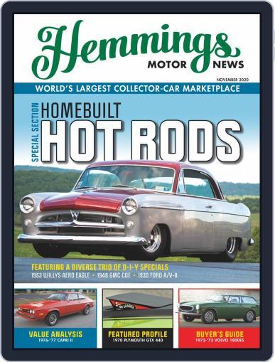 Hemmings Motor News (Digital) November 1st, 2020 Issue Cover