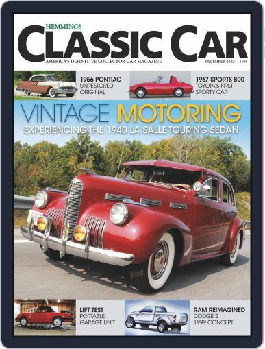 Hemmings Classic Car (Digital) December 1st, 2020 Issue Cover