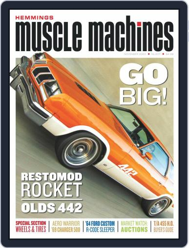 Hemmings Muscle Machines November 1st, 2020 Digital Back Issue Cover