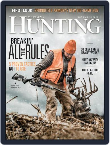 Petersen's Hunting (Digital) November 1st, 2020 Issue Cover