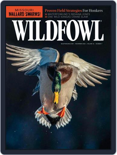 Wildfowl November 1st, 2020 Digital Back Issue Cover