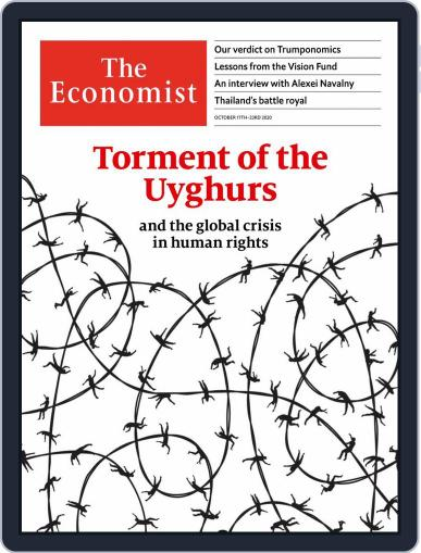 The Economist Continental Europe Edition (Digital) October 17th, 2020 Issue Cover