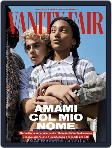 Vanity Fair Italia October 14th, 2020 Digital Back Issue Cover