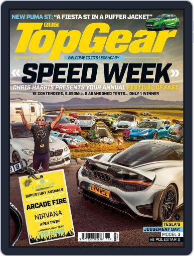 BBC Top Gear (digital) November 1st, 2020 Issue Cover