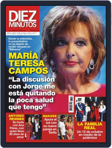 Diez Minutos (Digital) October 21st, 2020 Issue Cover