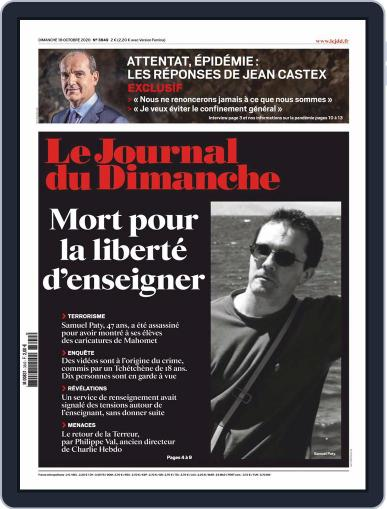 Le Journal du dimanche (Digital) October 18th, 2020 Issue Cover