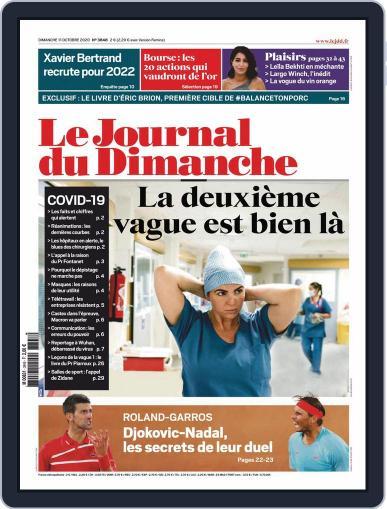 Le Journal du dimanche October 11th, 2020 Digital Back Issue Cover