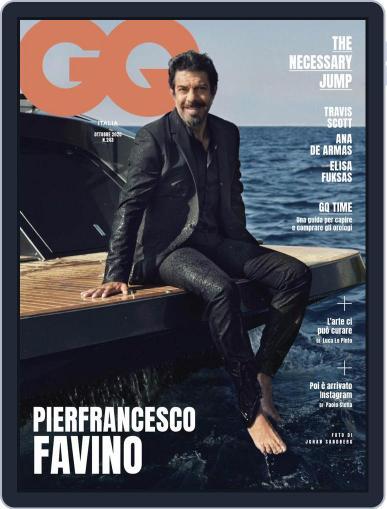 Gq Italia (Digital) October 1st, 2020 Issue Cover