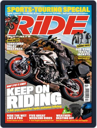 RiDE United Kingdom (Digital) December 1st, 2020 Issue Cover