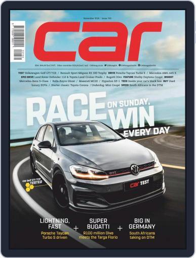 CAR November 1st, 2020 Digital Back Issue Cover