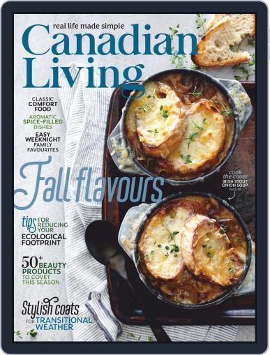 Canadian Living November 1st, 2020 Digital Back Issue Cover