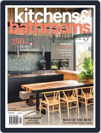 Kitchens & Bathrooms Quarterly (Digital) September 1st, 2020 Issue Cover
