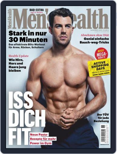 Men's Health Deutschland (Digital) November 1st, 2020 Issue Cover