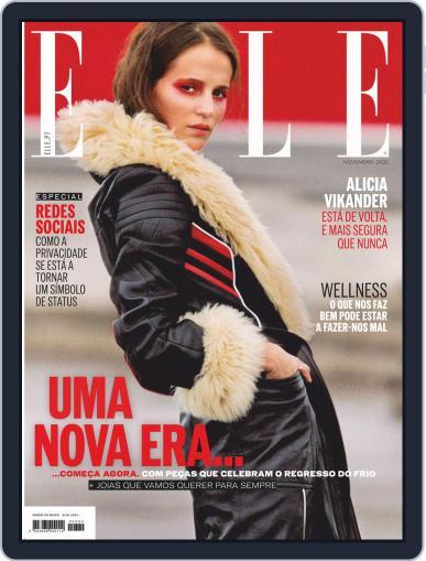 Elle Portugal (Digital) November 1st, 2020 Issue Cover