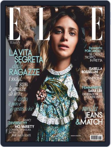 Elle Italia (Digital) October 24th, 2020 Issue Cover