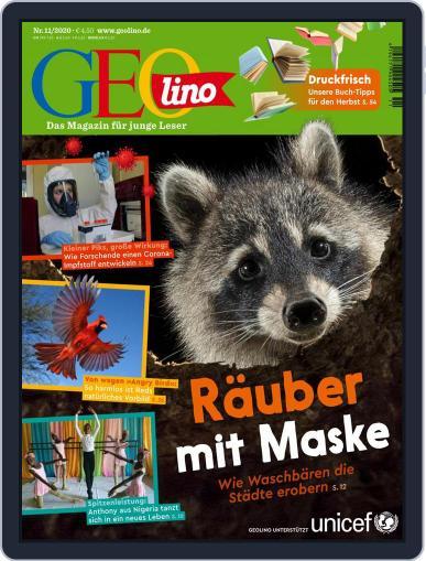GEOlino November 1st, 2020 Digital Back Issue Cover