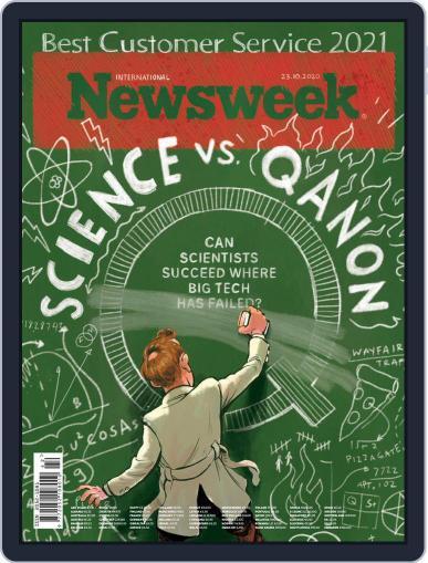 Newsweek International October 23rd, 2020 Digital Back Issue Cover