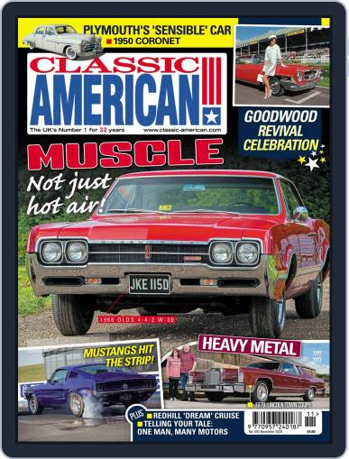 Classic American (Digital) November 1st, 2020 Issue Cover