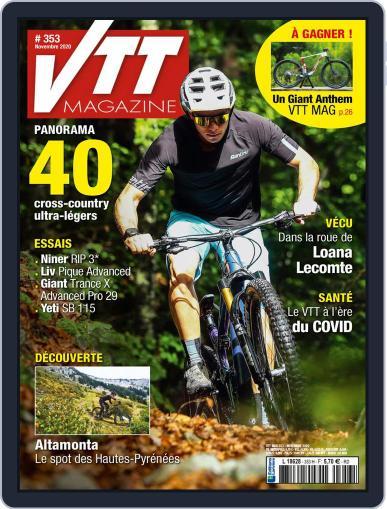 VTT November 1st, 2020 Digital Back Issue Cover