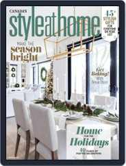 Style At Home Canada (Digital) Subscription November 1st, 2020 Issue