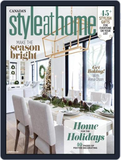 Style At Home Canada (Digital) November 1st, 2020 Issue Cover