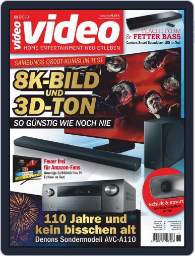 video (Digital) November 1st, 2020 Issue Cover