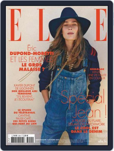 Elle France (Digital) October 16th, 2020 Issue Cover