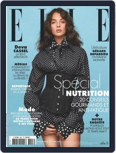 Elle France October 9th, 2020 Digital Back Issue Cover