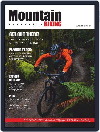 Mountain Biking Australia August 1st, 2020 Digital Back Issue Cover