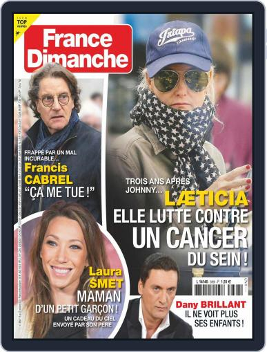 France Dimanche (Digital) October 16th, 2020 Issue Cover
