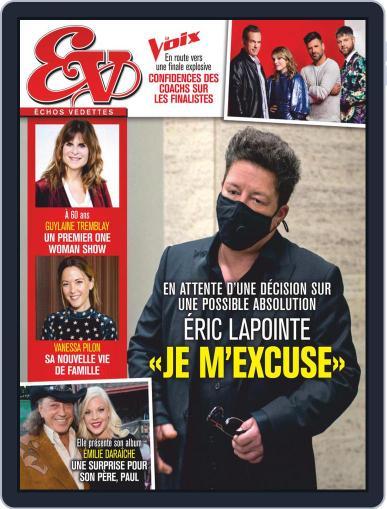 Échos Vedettes October 23rd, 2020 Digital Back Issue Cover