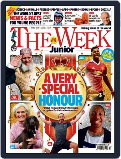 The Week Junior (Digital) October 17th, 2020 Issue Cover