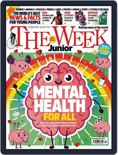 The Week Junior (Digital) October 10th, 2020 Issue Cover