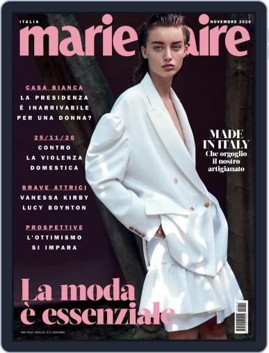Marie Claire Italia (Digital) November 1st, 2020 Issue Cover