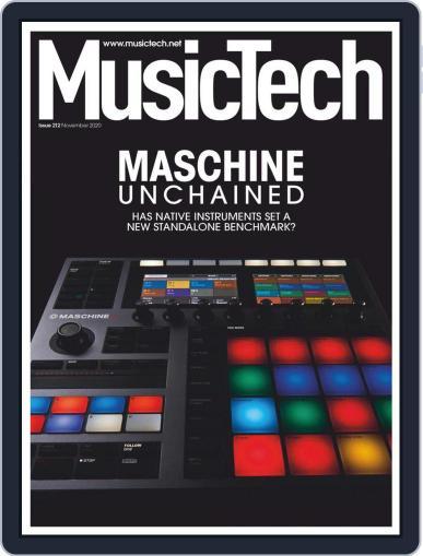 Music Tech (Digital) November 1st, 2020 Issue Cover