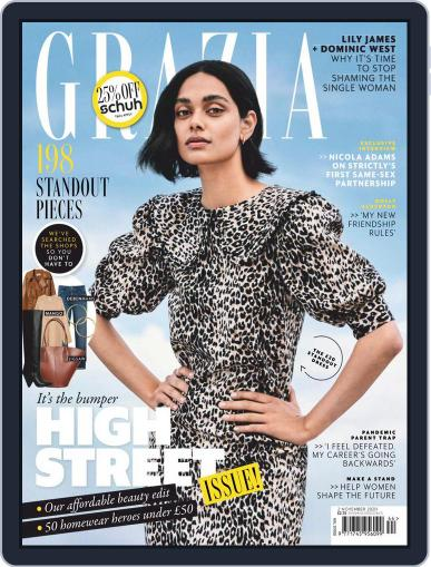 Grazia (Digital) November 2nd, 2020 Issue Cover