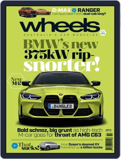 Wheels November 1st, 2020 Digital Back Issue Cover