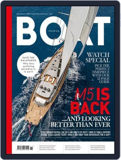 Boat International (Digital) November 1st, 2020 Issue Cover