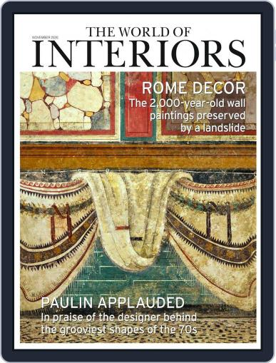 The World of Interiors November 1st, 2020 Digital Back Issue Cover