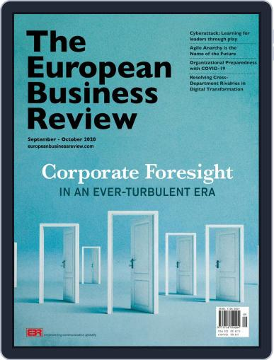 The European Business Review (Digital) September 1st, 2020 Issue Cover