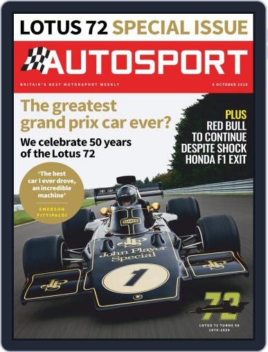 Autosport (Digital) October 8th, 2020 Issue Cover