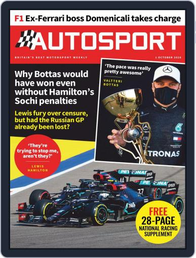 Autosport (Digital) October 1st, 2020 Issue Cover