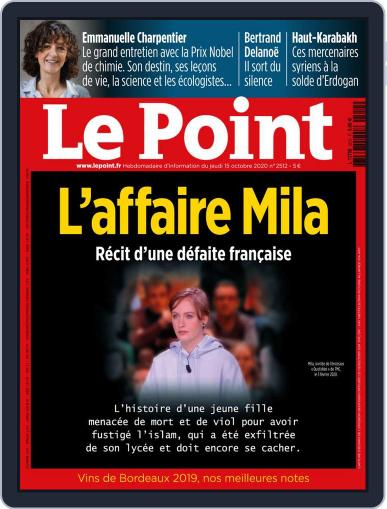 Le Point (Digital) October 15th, 2020 Issue Cover