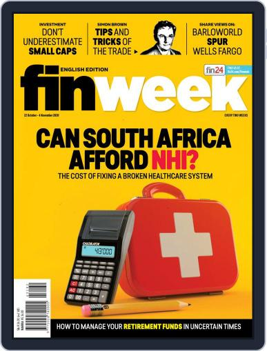 Finweek - English October 22nd, 2020 Digital Back Issue Cover