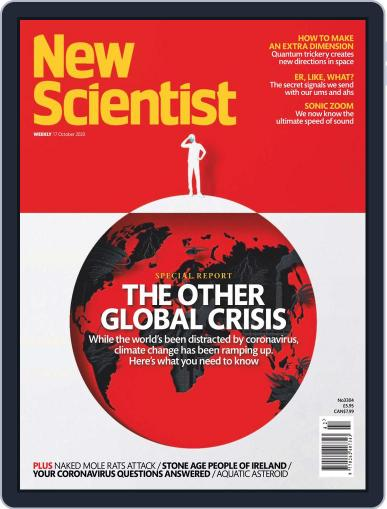 New Scientist International Edition (Digital) October 17th, 2020 Issue Cover